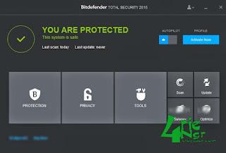 Bitdefender Total Security 2015 Build 18.22.0.1521 Full
