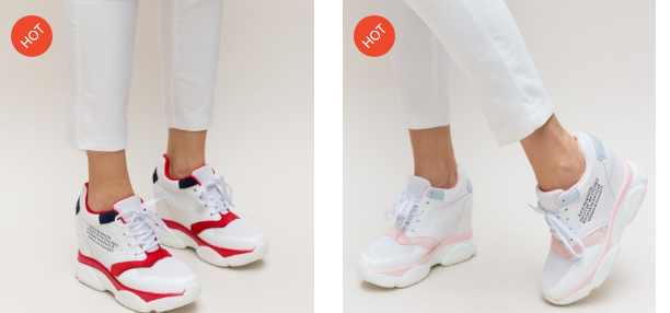 Paltforme albe de primavara model nou 2019 ieftine