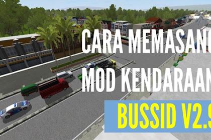 Cara Memasang MOD Kendaraan (Mobil Angkot, Pickup dan Truk) di BUSSID v3.2
