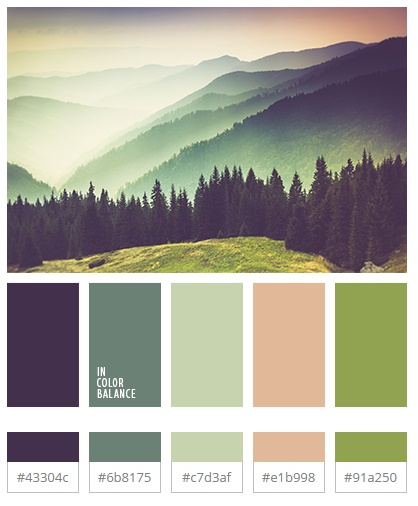 Color Palette #3132