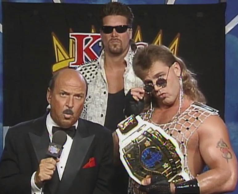 WWF / WWE King of the Ring 1993: Shawn Michaels introduced Diesel as his new bodyguard