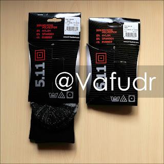 5.11 tactical Level I 6'' Socks fabric composition comparison