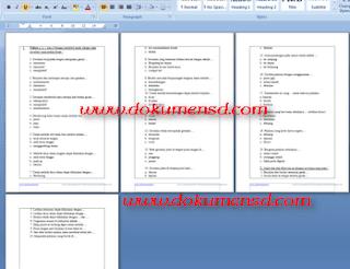 Download Soal UTS PJOK Kelas 3 Semester 1 Lengkap Dengan Kunci Jawabannya