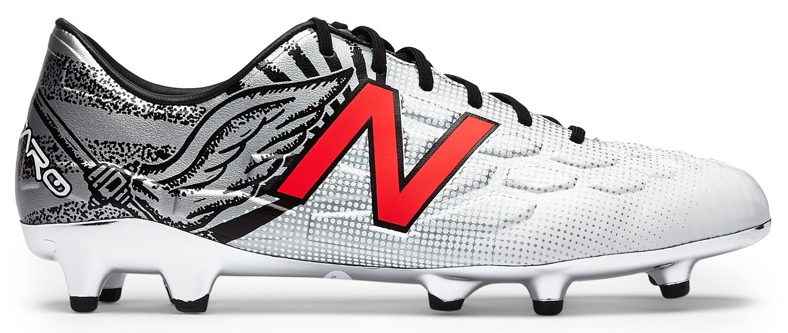 New balance visaro aaron ramsey limited edition boots released new balance visaro ramsey limited edition white black red biocorpaavc Choice Image