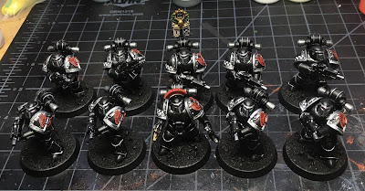 Heresy Era Legion I Dark Angels Tactical Squad WIP