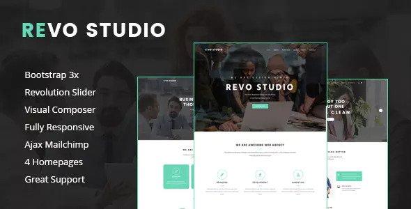 REVO STUDIO V1.1.1 - MULTIPURPOSE WORDPRESS THEME
