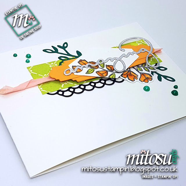 Stampin' Up! Petal Palette & Celebrate You SU Card Idea order craft products from Mitosu Crafts UK Online Shop