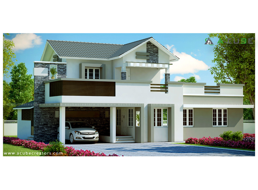 More and more homeowners nowadays preferred to have a home with a modern design. May it be for houses, condo units, newly-bought homes or even for renovated properties. But with increasing prices of home lots nowadays, having a spacious single-story house is hard to achieve. This is the reason why many two-story house design with modern touch emerges even for small or narrow lots.   The following are a compilation of compact but convenient or comforting two-story family home that shows both coziness and modern style. The house designs are products of seaconhomes.com in Thailand.   Indeed these houses are lovely where you can get inspirations for your dream home. The floor plans are included but if you are not satisfied  or want to change something base on your needs, you can always design your own floor plan.