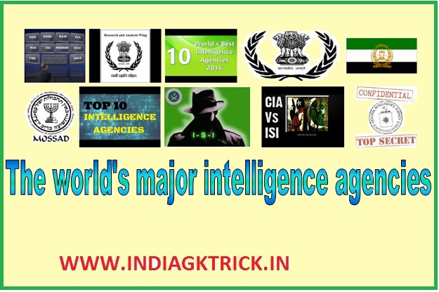 The World's Major Intelligence Agencies