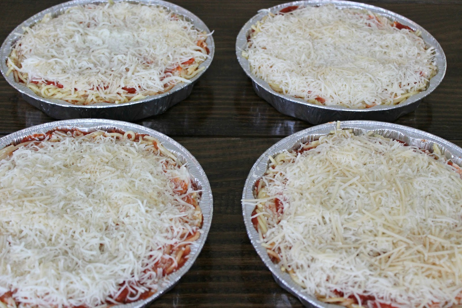 baked spaghetti freezer meals