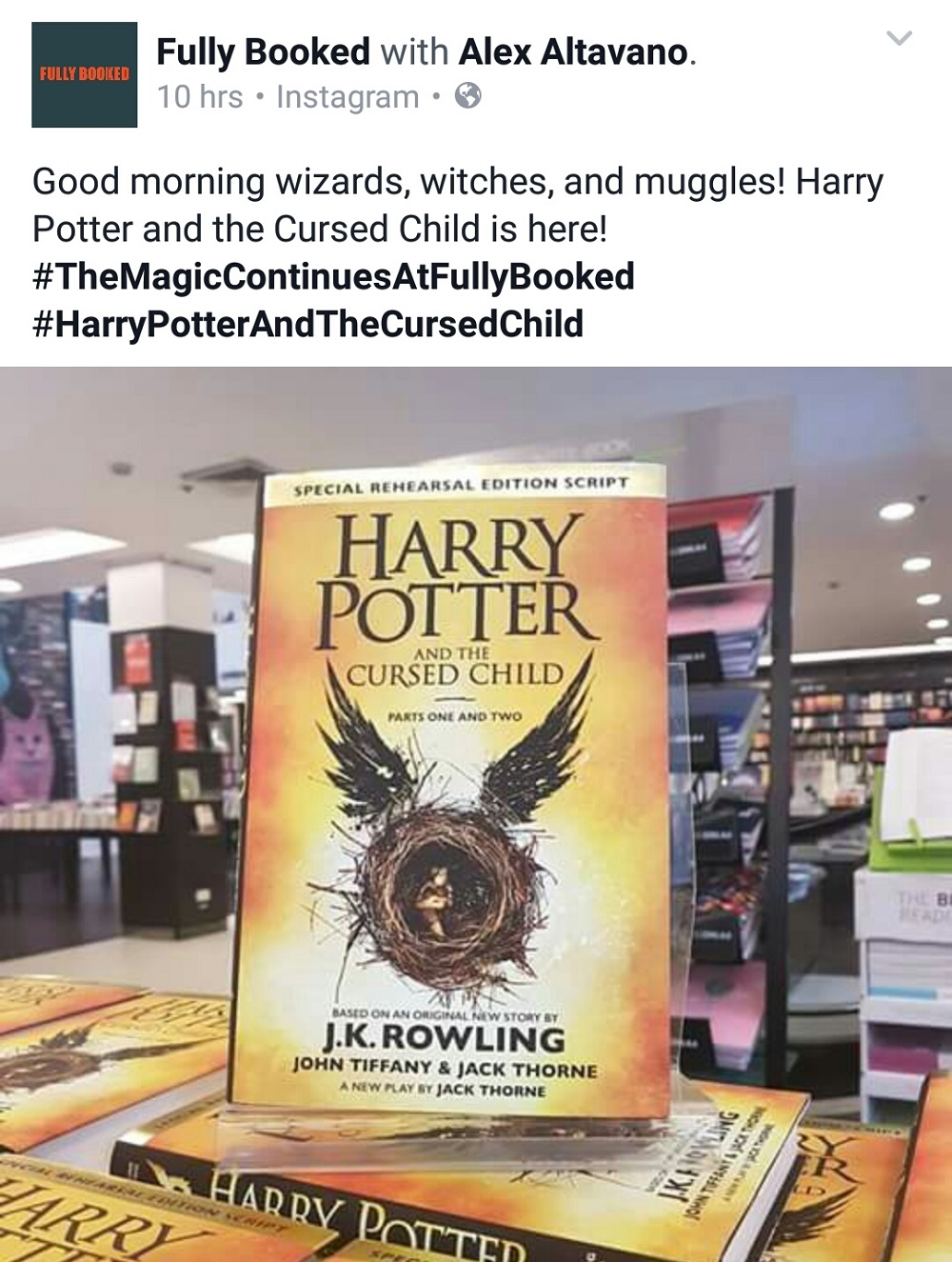 Harry Potter and the Cursed Child, Harry Potter books collection, Harry Potter books scam
