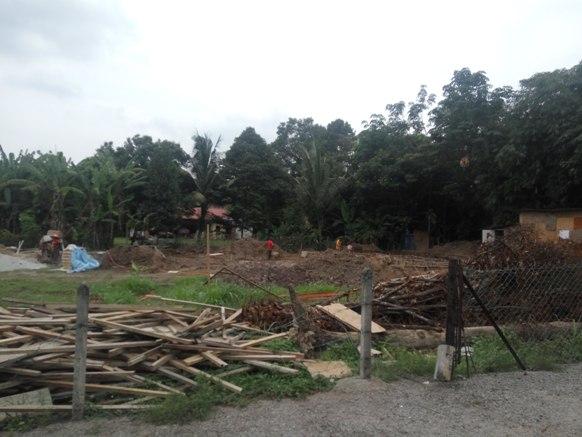 kontraktor rumah banglo site visit 1