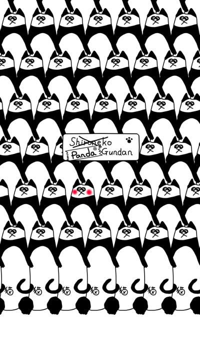 Shironeko Gundan -want to be a panda-