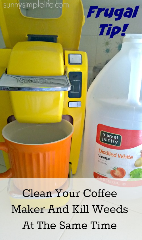 yellow, keurig, vinegar