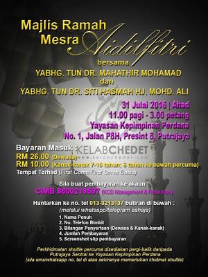 Dulu Bayar RM10K Untuk Tengok Tun Mahathir?