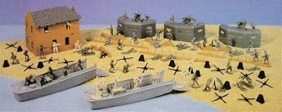 BMC Toys Invasion of Normandy Playset