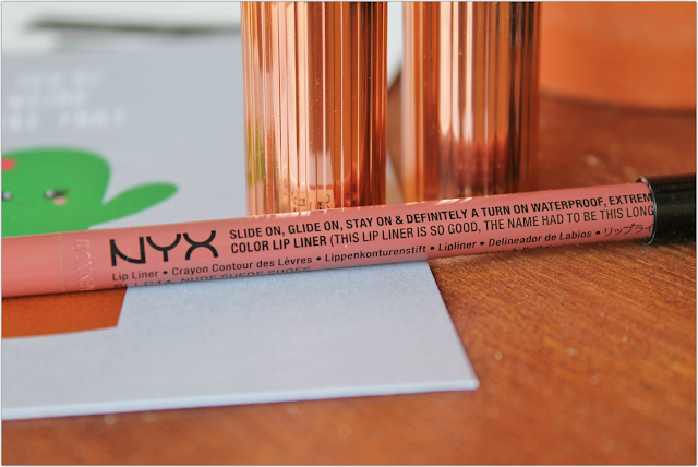 NYX Nude Suede Shoes lip liner