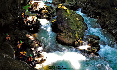 hijau tosca green canyon