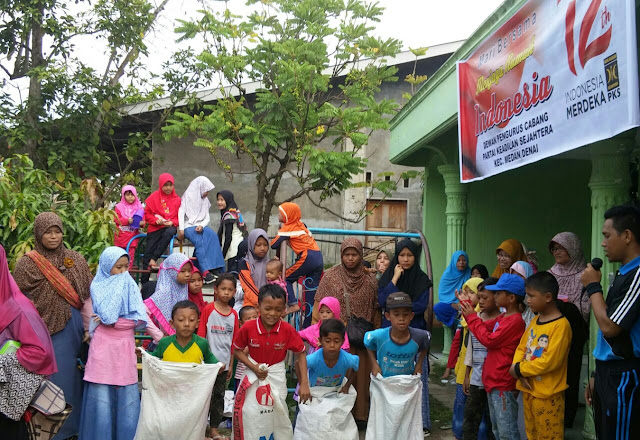 Meriahkan HUT RI ke 72, PKS Medan Denai Gelar Berbagai Perlombaan