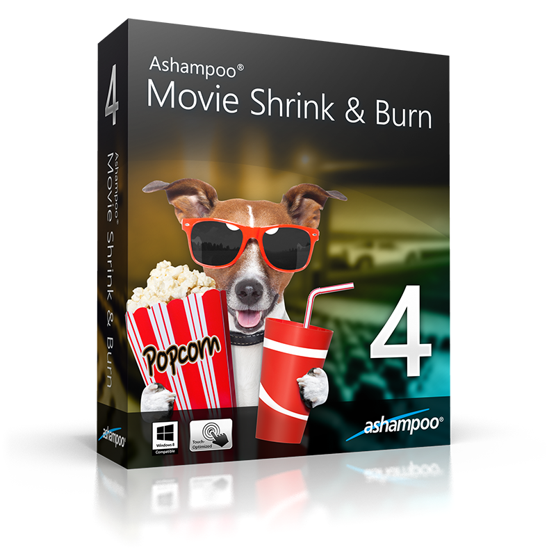 Ashampoo Movie Shrink & Burn 4 Full Version