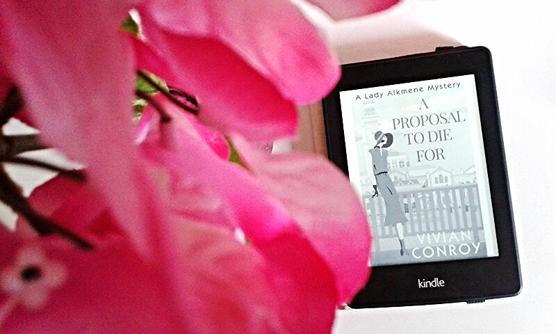 A Proposal To Die For By Vivian Conroy on Kindle paperwhite