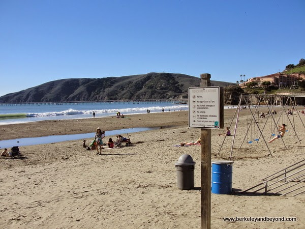 beach playground at Avila Beach, California