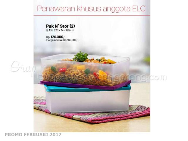 Pak n Store Tupperware Promo Februari 2017