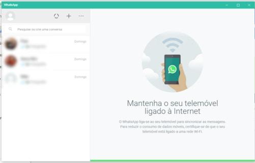 Aplicativo WhatsApp para Windows - PC
