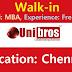 Unibros Technologies Walk-in Drive HR Executive @ Chennai - Apply Now