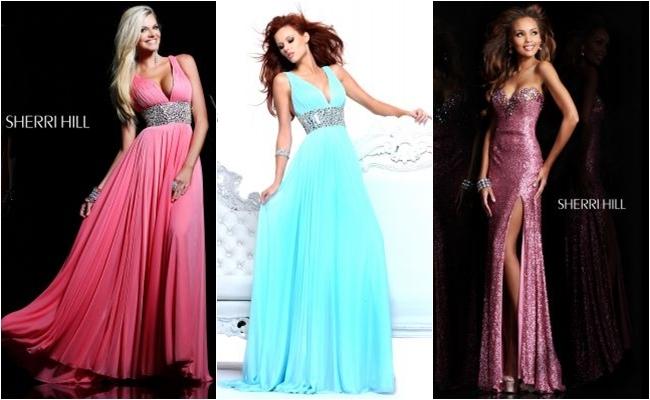 Sherri Hill duge maturske haljine, haljine za vece