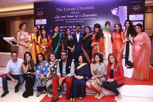 The Panel Members and other guest at the event Life and Times of a superstar