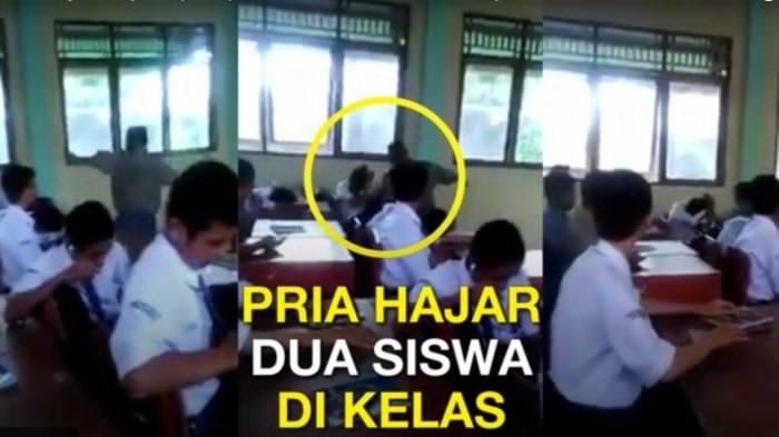 Tragis! Seorang Pria Hajar Siswa Tanpa Ampun di Kelas hingga Bikin Siswa Lainnya seperti Ini!