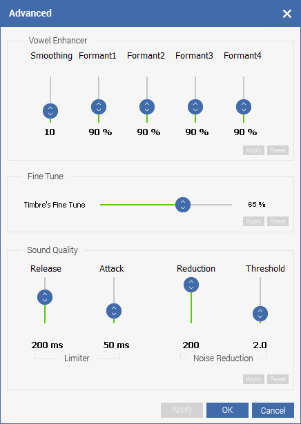 best voice changer for pc with advanced voice effects settings beautifying