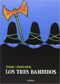 mejores cuentos niños 3 a 5 años, recomendados imprescindibles, los tres bandidos tomi ungerer