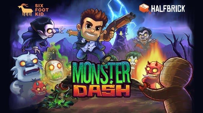 Download Monster Dash Mod Apk v2.7.3 ( Free Shopping ) Terbaru