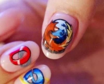 Diseño de uñas  y navegadores