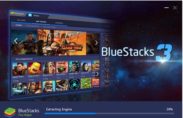 تحميل برنامج بلو ستاك عربي مجانا للكمبيوتر Download BlueStacks