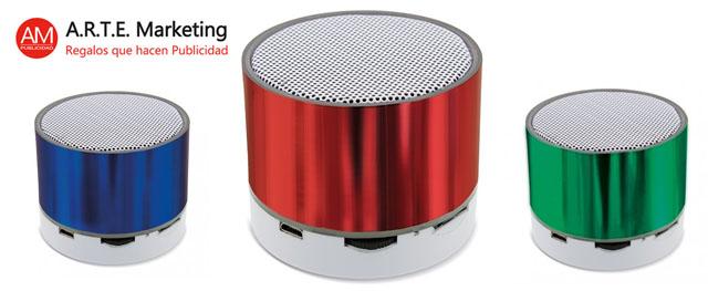 Producto Estrella Arte Marketing: Altavoces Bluetooth