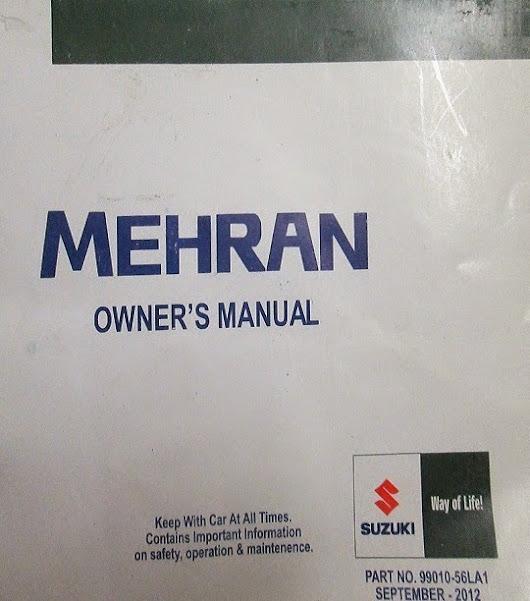 suzuki mehran maintenance manual pdf suzukimehran suzukimanual rh plus google com Suzuki Bolan New Model Suzuki Mehran Rates