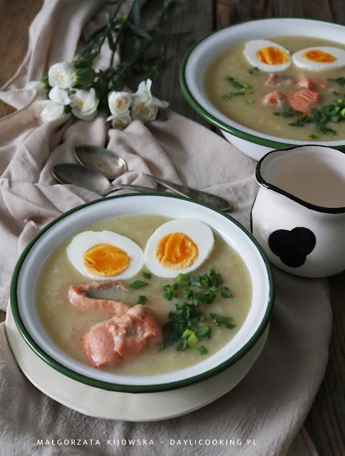 wielkanocne zupy, zupa na Wielkanoc, dania na Wielkanoc, wielkanocne dania, jaką zupę na Wielkanoc, biały barszcz na gęsto, daylicooking