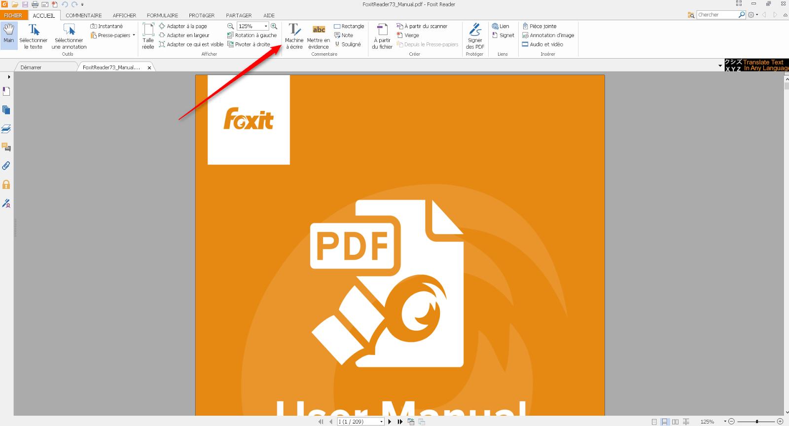 ins u00e9rer image dans pdf foxit