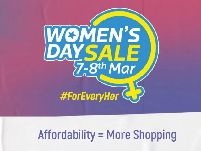 Flipkart Women's Day Sale 2019