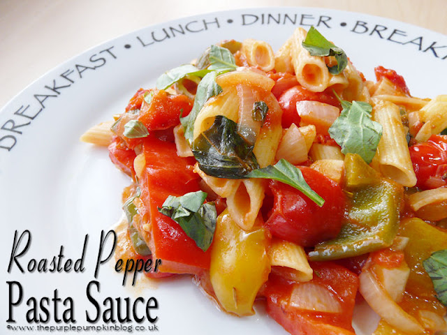 Roasted Pepper #Pasta Sauce #Vegan #Vegetarian #Detox
