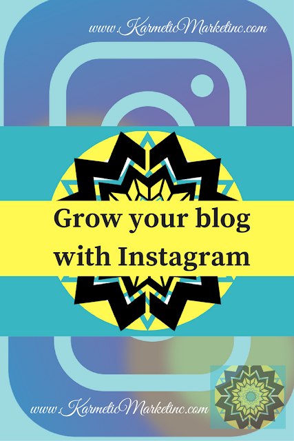 grow your blog with Instagram