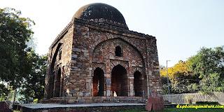 Barah Khamba at Hauz Khash