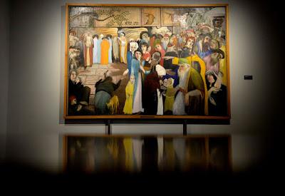 Csontváry Kosztka Tivadar, Csontváry-kiállítás, Csíkszereda, Székelyföld, kultúra, Csíki Székely Múzeum, Magányos cédrus,