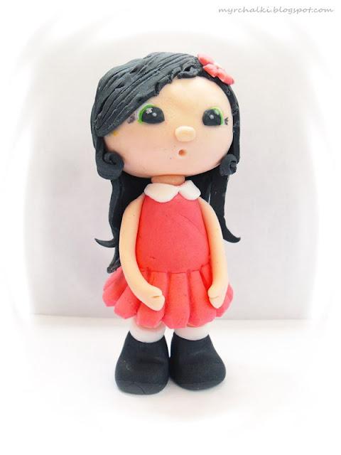 девочка из мастики