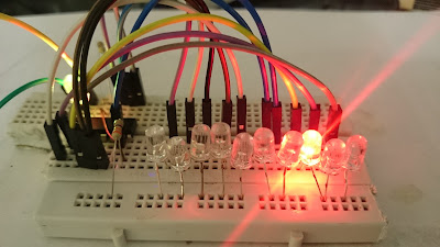 Simplest LED chaser using IC4017(without timer IC)