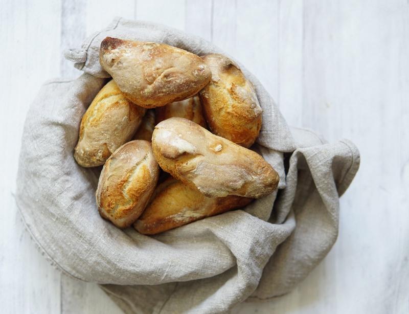 Itse-leivottu-leipä, sämpylätaikina