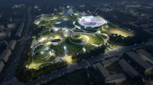 CAMPUS SPORTIF DE QUZHOU, CHINA